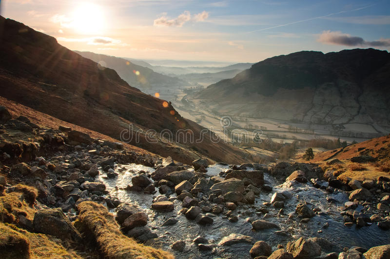 Dungeon Ghyll Beck stock images