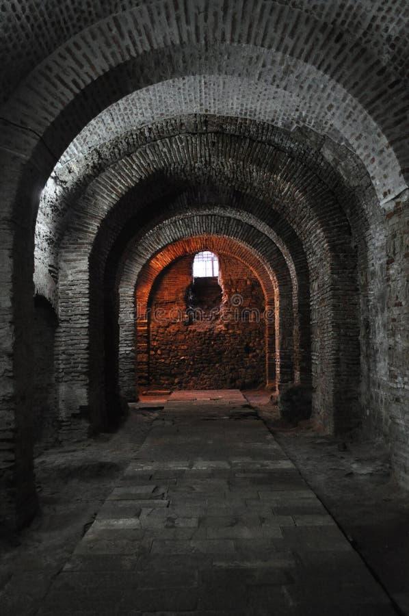 Dungeon oscuro   fotografía de archivo libre de regalías