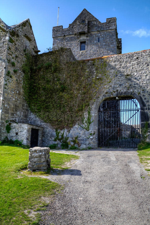 Download Dunguaire castle stock photo. Image of ireland, dunguaire - 14206736