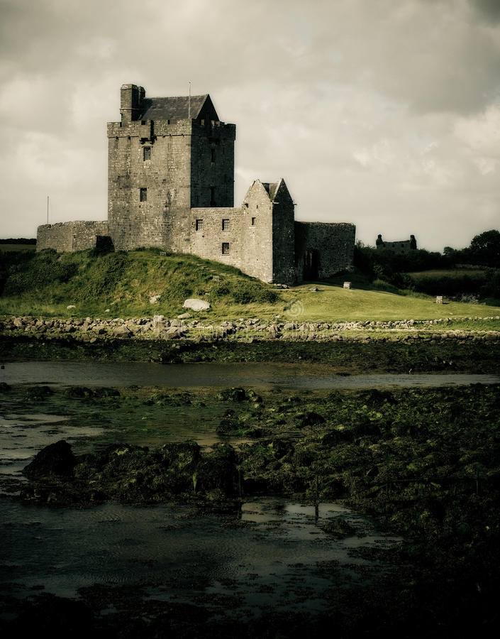 Download Dunguaire Castle stock photo. Image of defensive, architecture - 15576736