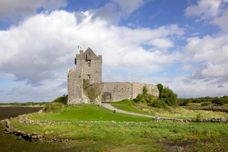 Download Dunguaire Castle stock photo. Image of green, serene - 28071160