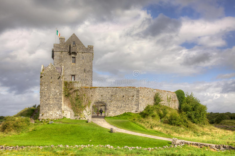 Download Dunguaire Castle stock photo. Image of clouds, photography - 28071172