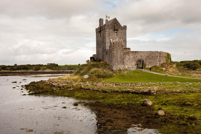 Dunguaire Castle, Kinvara, County Galway, Ireland stock image