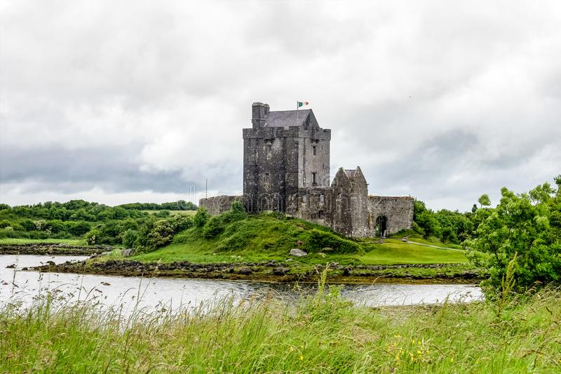 Dunguaire Castle in County Galway near Kinvara, Ireland stock photos