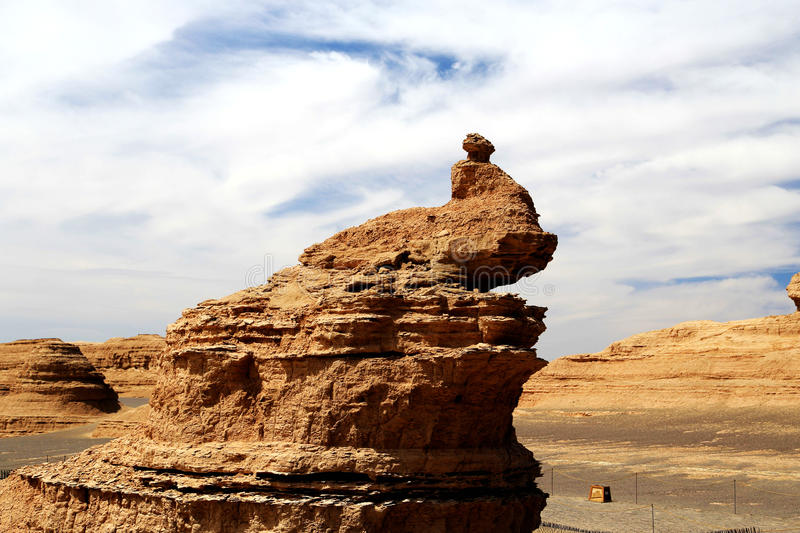 Dunhuang Yadan devil City royalty free stock images