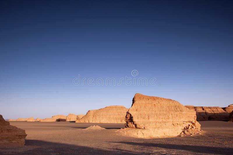 Dunhuang Yadan National Geologic Park Stock Photography