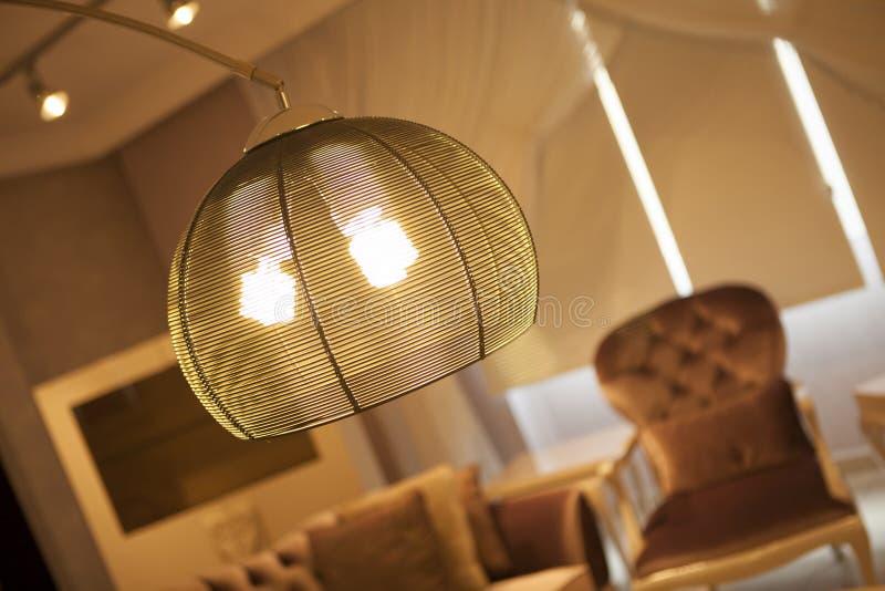 dunkel exponeringslampa royaltyfria foton