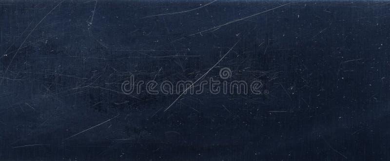 dunkelblauer Stahlmetallbeschaffenheitshintergrund stockfoto