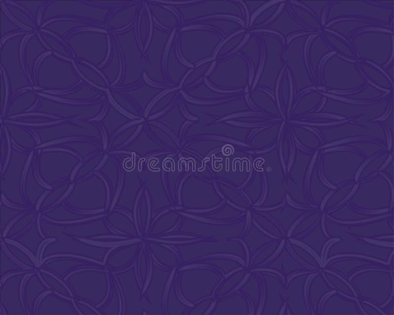 Dunkelblaues Muster Nahtlose dreieckige Schablone Geometrische Probe Wiederholen des Programms mit Dreieckformen stock abbildung