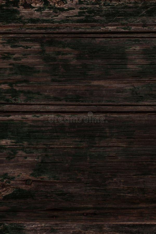 Dunkelbraune hölzerne Beschaffenheit, Abschluss oben der hölzernen Wand Zusammenfassungsrückseite lizenzfreie stockfotografie