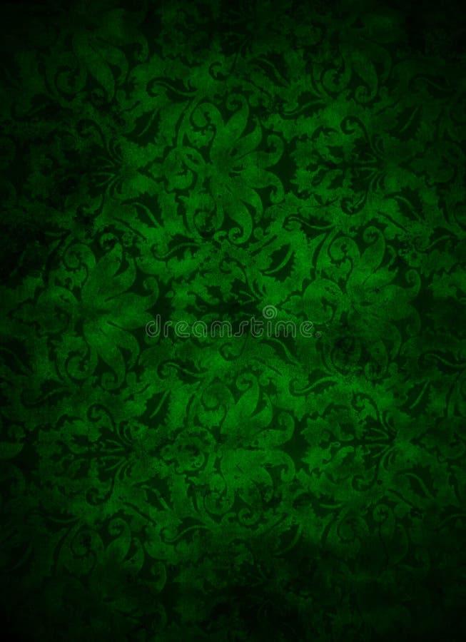 Dunkelgrüner Brokat-Blatt-Hintergrund lizenzfreie stockfotografie