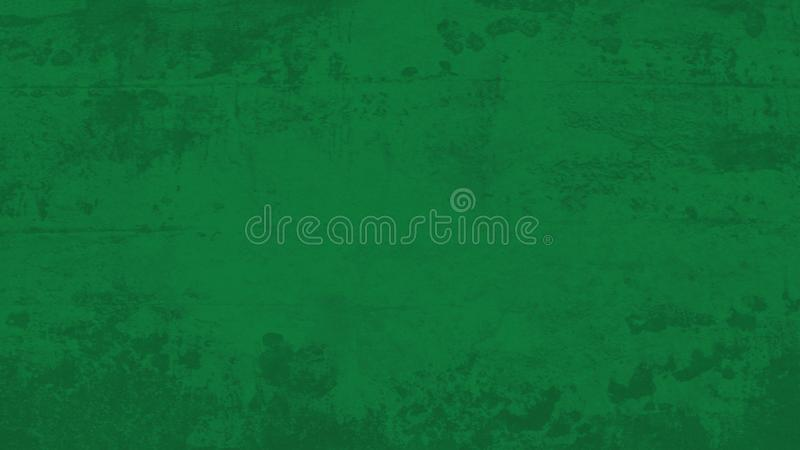 Dunkelgrüner grungy Hintergrund stock abbildung