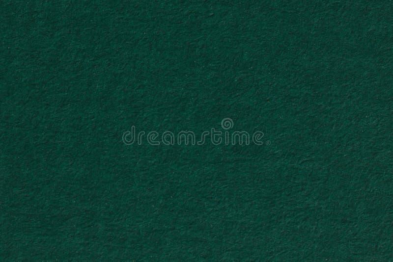 Dunkelgrüner Papierhintergrund KorngefügeKunstdruckpapier in einer hohen Auflösung lizenzfreie stockfotos
