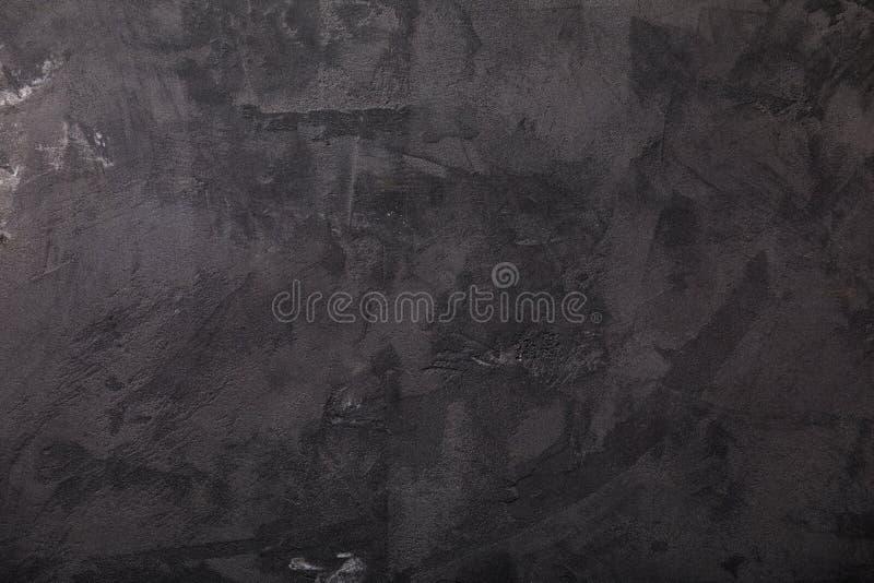 Dunkelgraue konkrete Hintergrundbeschaffenheit stockbilder