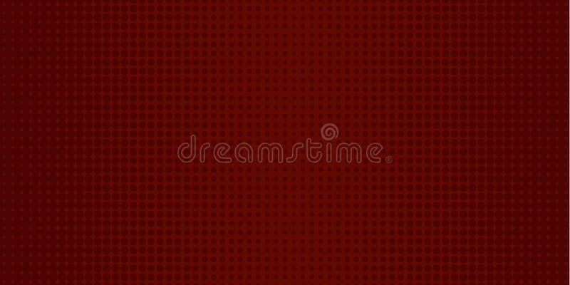 dunkelroter Halbtonhintergrund der Pop-Art lizenzfreies stockfoto