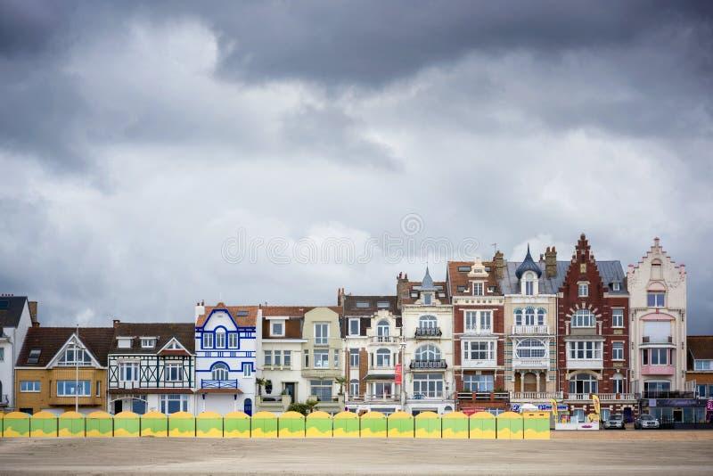 Dunkerque, Malo - Les Bains, miejscowość nadmorska Dunkirk Nord Pas de Calais, Francja zdjęcia stock