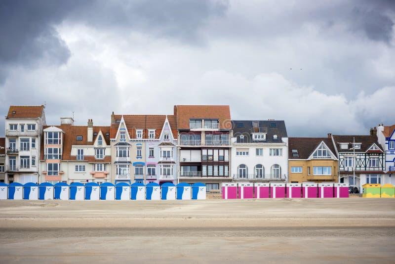 Dunkerque - Malo Les Bains, station balnéaire de Dunkerque Pas De Calais, France de Nord photos stock