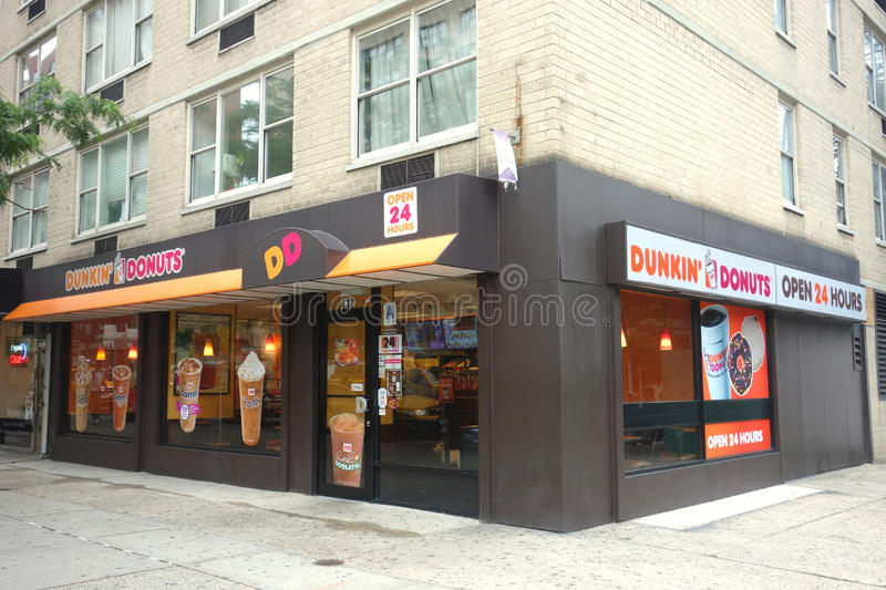 Dunkin  Donuts Editorial Photo