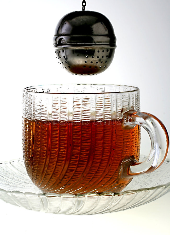 Dunking Tea Stock Images