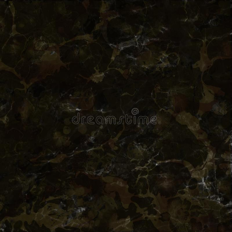 Dunkle nass abstrakte Farbe leckt und spritzt Beschaffenheit auf weißem Aquarellpapierhintergrund Natürliche organische Formen un stockfotografie