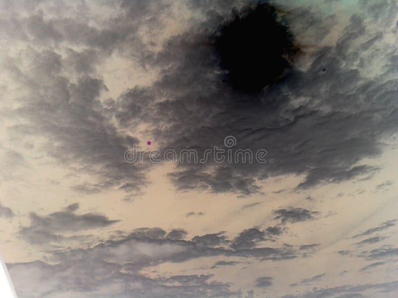 Dunkle Wolke lizenzfreie stockfotos