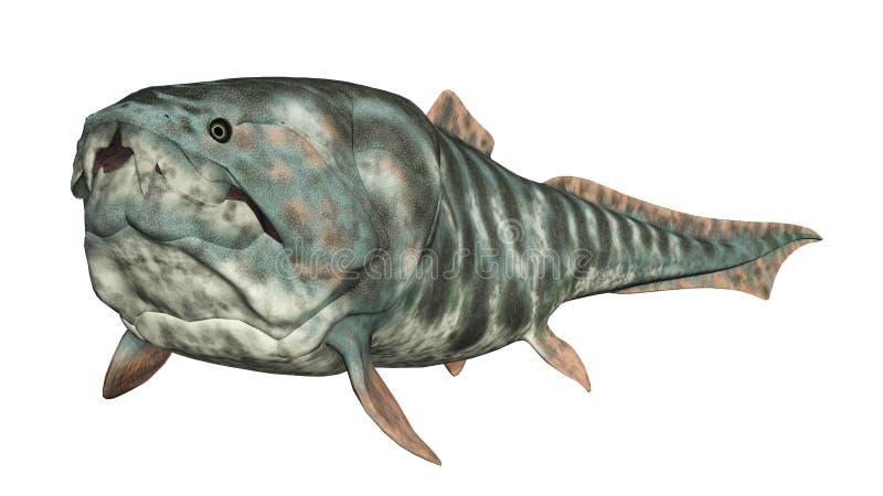Dunkleosteus stock de ilustración