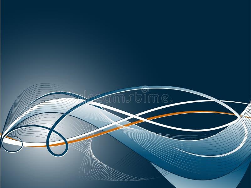 Dunkler abstrakter Vektor vektor abbildung