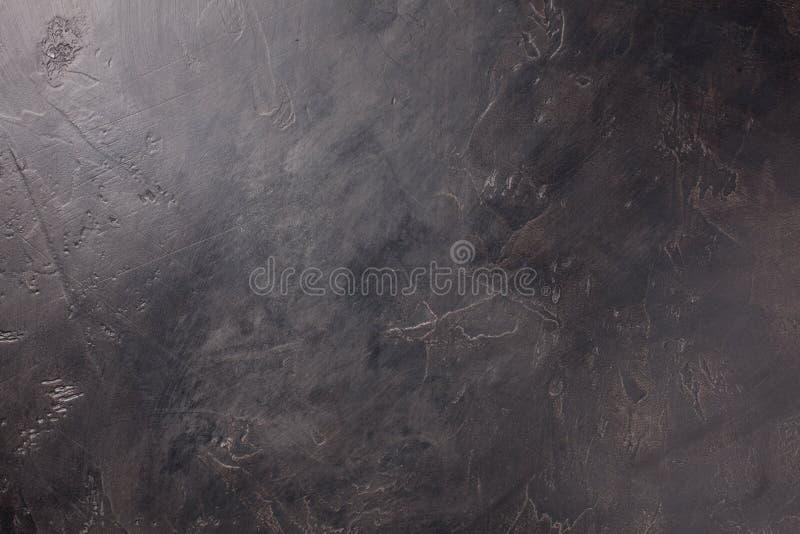 Dunkler Betonmauerhintergrund, Beschaffenheit mit Kopienraum lizenzfreie stockfotografie