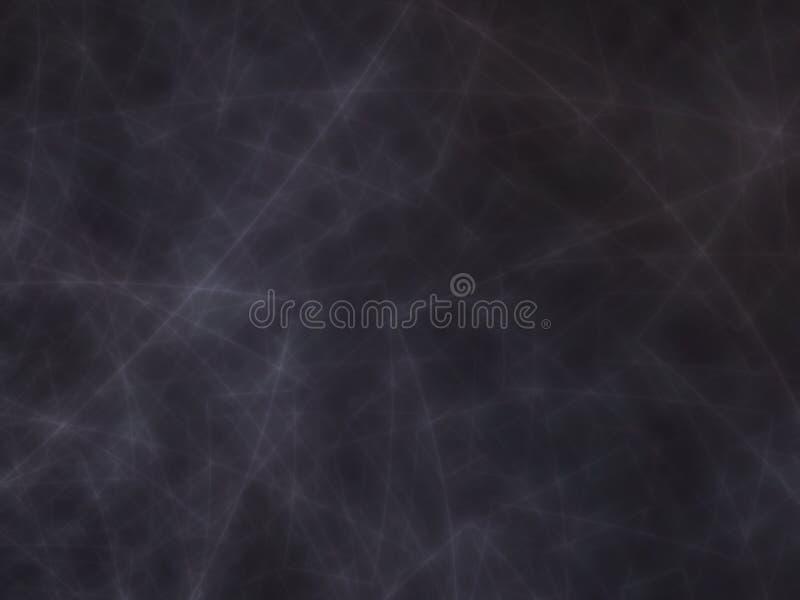 Dunkler Fractalmarmorhintergrund lizenzfreie abbildung