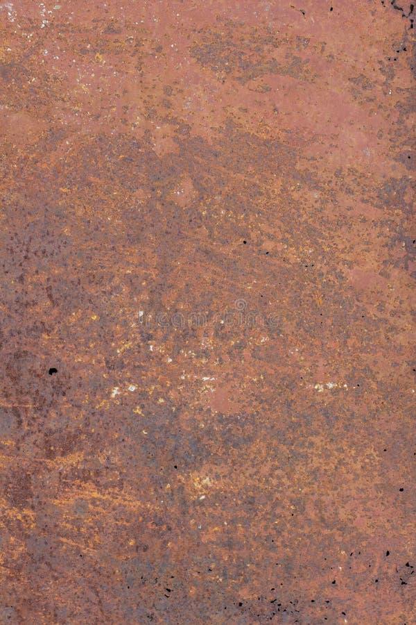 Dunkler getragener rostiger Metallbeschaffenheitshintergrund Abschluss oben stockfotos