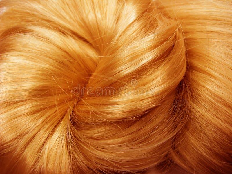 Dunkler glänzender Haarbeschaffenheitshintergrund lizenzfreies stockbild
