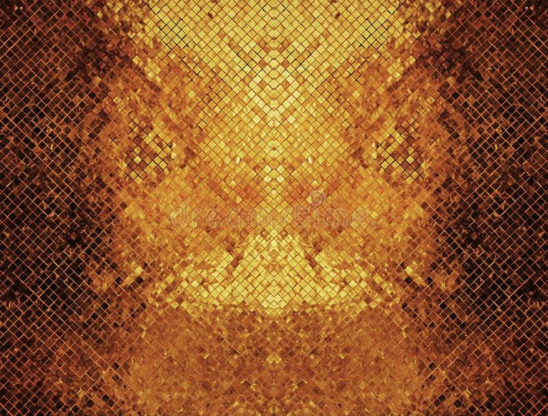 dunkler Goldbeschaffenheitshintergrund stockbilder