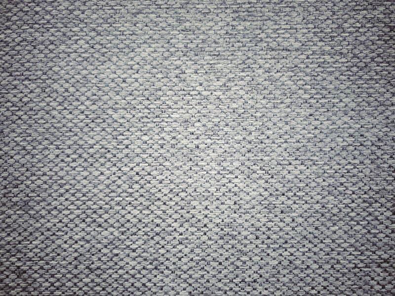 Dunkler Gray Fabric Texture stockfotografie