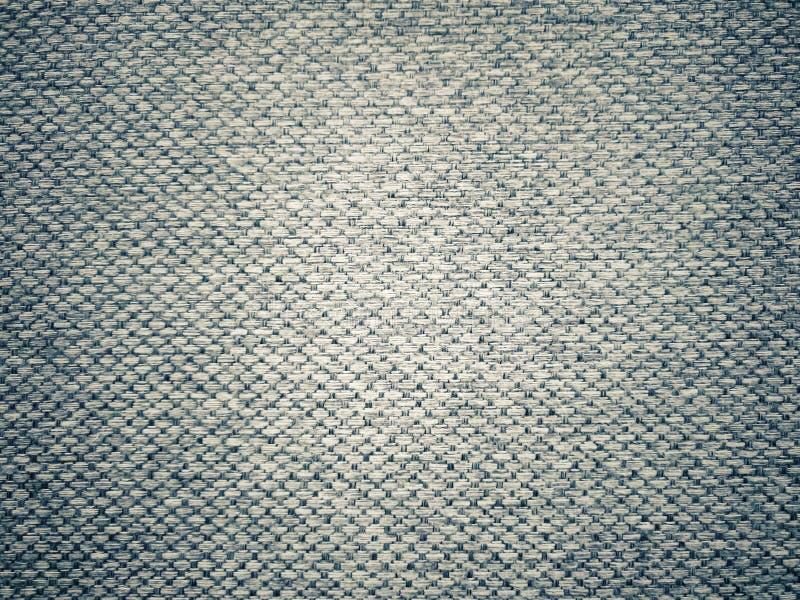 Dunkler Gray Fabric Texture lizenzfreie stockfotografie