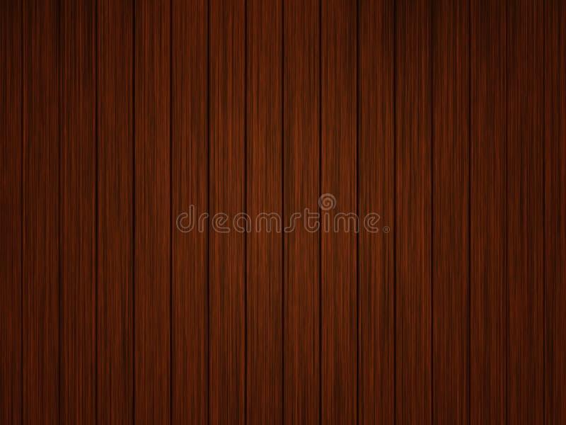 Dunkler hölzerner Fußboden lizenzfreie abbildung