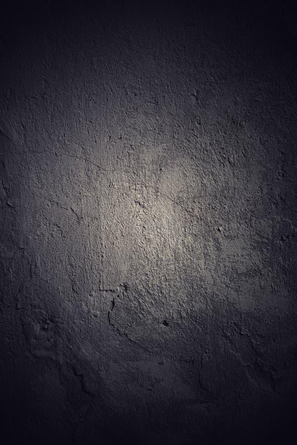 Dunkler Schmutzwandhintergrund stockfotos