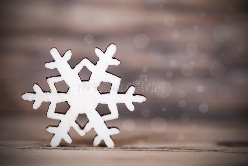 Dunkler Schneeflocken-Hintergrund stockbild