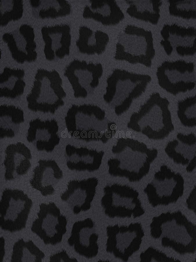 Dunkler Tierpelz stockfoto