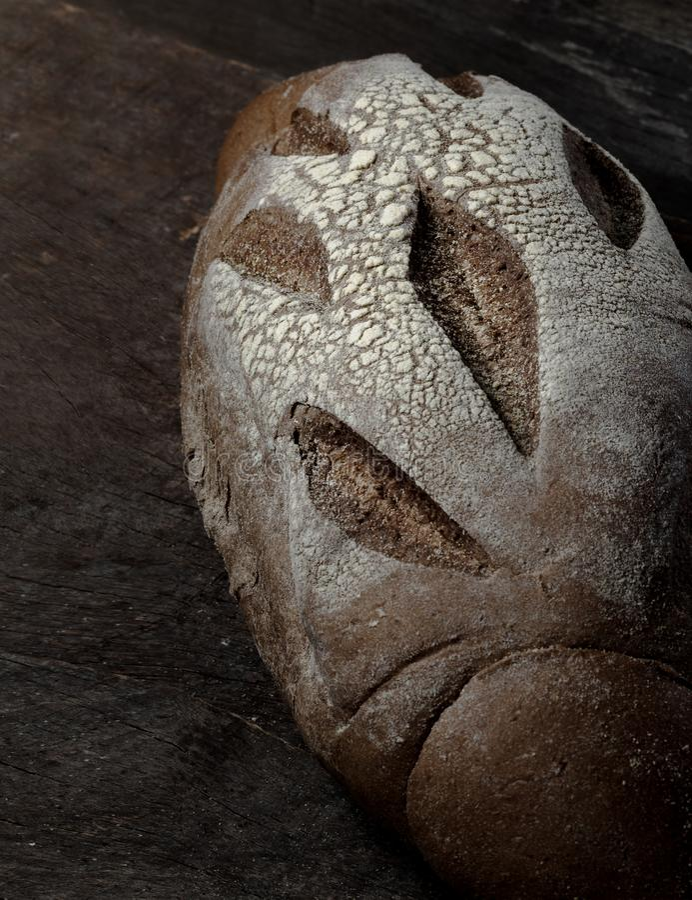 Dunkles australisches Brot stockfotografie