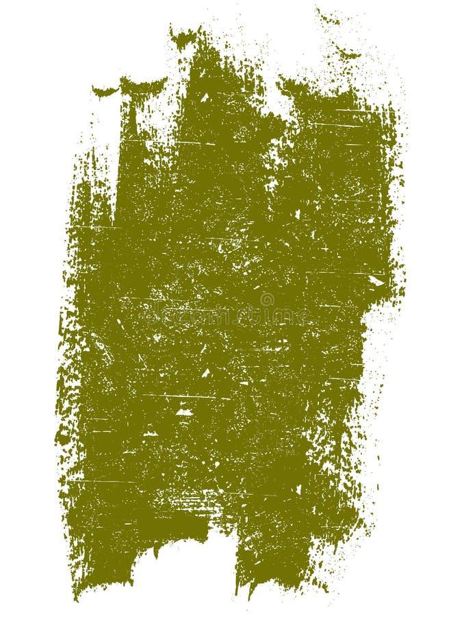 Dunkles gelbes Grunge Quadrat stock abbildung