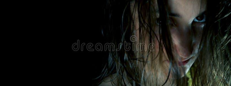 Dunkles Gesicht #3 lizenzfreies stockfoto