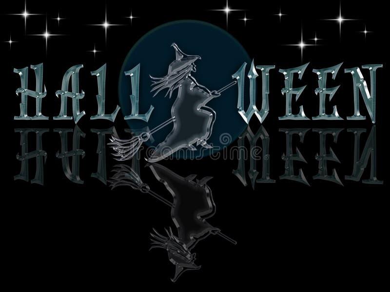 Dunkles Glazy Halloween lizenzfreie abbildung