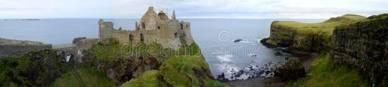 dunluce замока стоковое фото rf