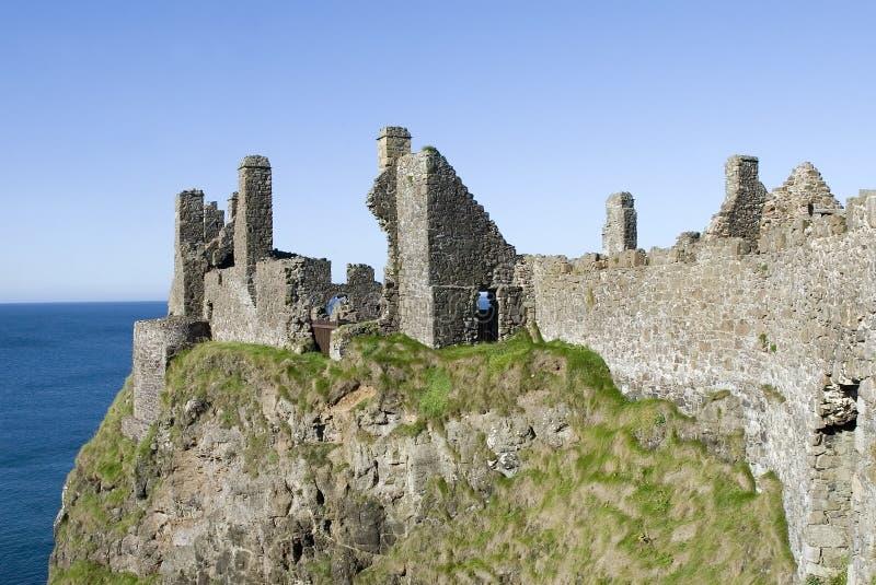 dunluce замока стоковое изображение rf