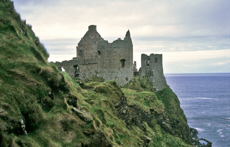 Dunluce Castle royalty free stock images