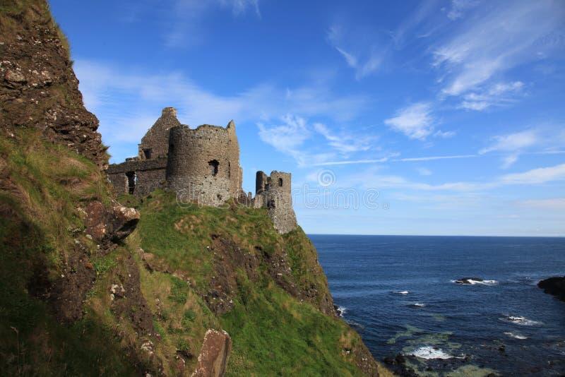 Dunluce Castle North Ireland stock photography