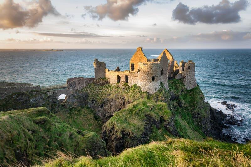 Dunluce Castle royalty free stock photos