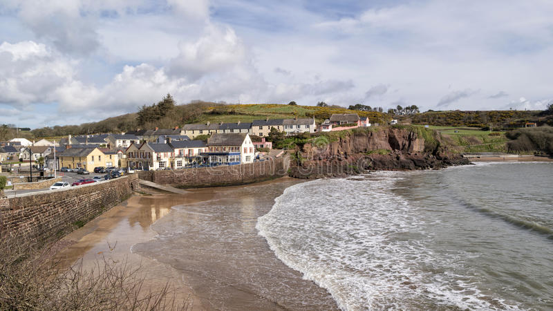 Dunmore East in Co.Waterford royalty free stock image