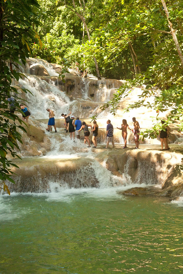 Free Dunn S River Falls In Ocho Rios, Jamaica Royalty Free Stock Images - 24243769