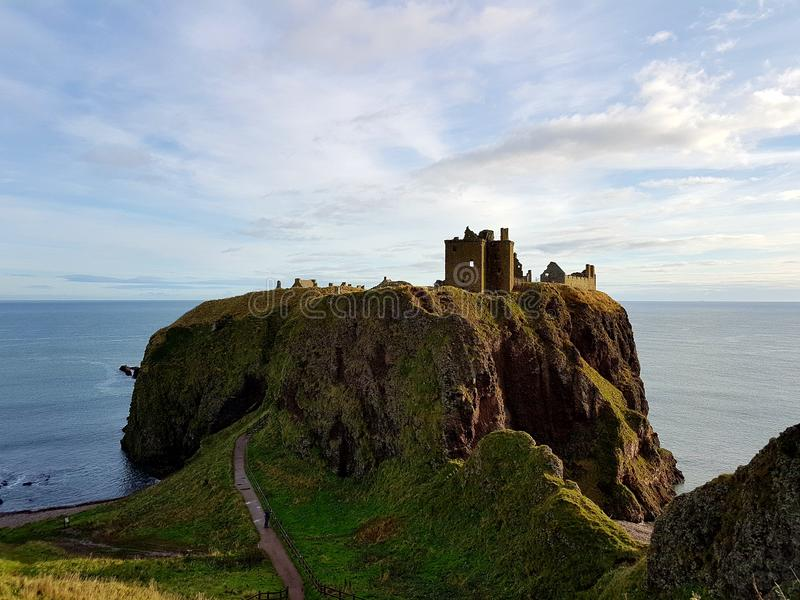 Dunnotar Castle royalty free stock images
